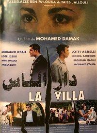 The villa poster