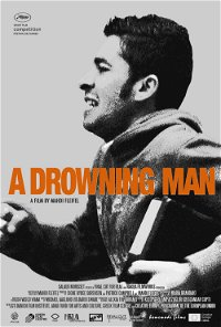 A drowning man poster